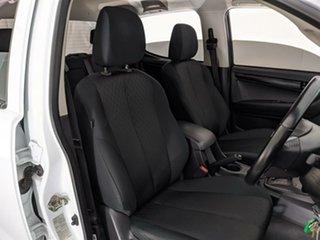 2016 Isuzu D-MAX MY17 SX Crew Cab White 6 Speed Sports Automatic Utility
