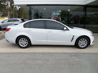 2013 Holden Commodore VF Evoke White 6 Speed Automatic Sedan.