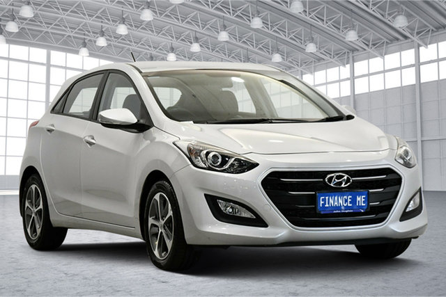 Used Hyundai i30 GD4 Series II MY17 Active X Victoria Park, 2016 Hyundai i30 GD4 Series II MY17 Active X Platinum Silver Metallic 6 Speed Sports Automatic