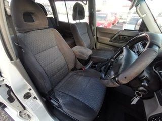 2005 Mitsubishi Pajero NP MY05 GLX White 5 Speed Sports Automatic Wagon