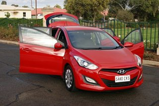 2012 Hyundai i30 GD Active Red 6 Speed Automatic Hatchback