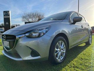 2019 Mazda 2 DJ2HAA Maxx SKYACTIV-Drive Silver 6 Speed Sports Automatic Hatchback.