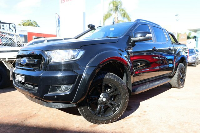Used Ford Ranger PX MkII MY18 FX4 Special Edition Brookvale, 2018 Ford Ranger PX MkII MY18 FX4 Special Edition Black 6 Speed Automatic Double Cab Pick Up