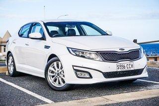 2014 Kia Optima TF MY15 SI White 6 Speed Sports Automatic Sedan.
