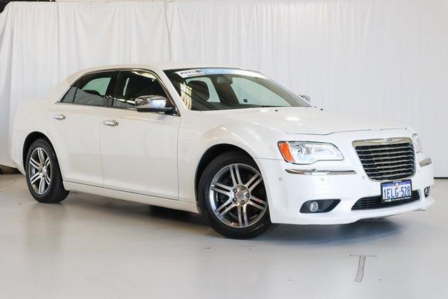 Used Chrysler 300 LX MY13 Limited E-Shift Wangara, 2013 Chrysler 300 LX MY13 Limited E-Shift White 8 Speed Sports Automatic Sedan