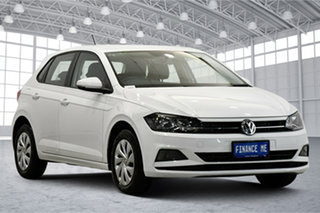 2019 Volkswagen Polo AW MY19 70TSI DSG Trendline Pure White 7 Speed Sports Automatic Dual Clutch.