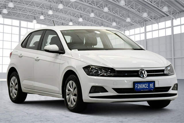 Used Volkswagen Polo AW MY19 70TSI DSG Trendline Victoria Park, 2019 Volkswagen Polo AW MY19 70TSI DSG Trendline Pure White 7 Speed Sports Automatic Dual Clutch