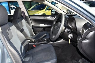 2009 Subaru Impreza G3 MY09 R AWD Sage Green 5 Speed Manual Sedan