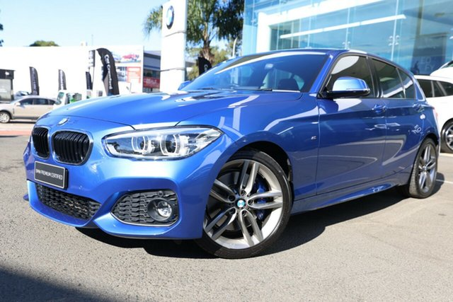 Used BMW 125i F20 LCI MY18 M Sport Brookvale, 2018 BMW 125i F20 LCI MY18 M Sport Estoril Blue 2 Metallic 8 Speed Automatic Hatchback