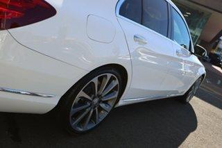 2014 Mercedes-Benz C250 205 Polar White 7 Speed Automatic Sedan