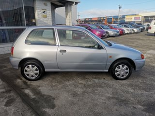 1997 Toyota Starlet Life Silver 3 Speed Automatic Hatchback