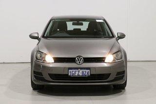 2015 Volkswagen Golf AU MY15 90 TSI Grey 6 Speed Manual Hatchback.