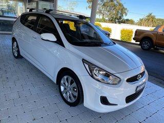 2019 Hyundai Accent Sport White Sports Automatic Hatchback