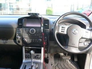 2014 Nissan Navara D40 S7 Titanium White 5 Speed Sports Automatic Utility
