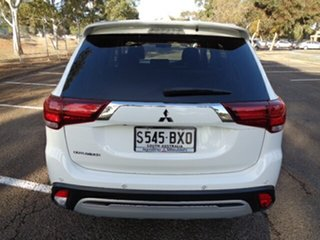 2018 Mitsubishi Outlander ZL MY19 LS 2WD White 6 Speed Constant Variable Wagon