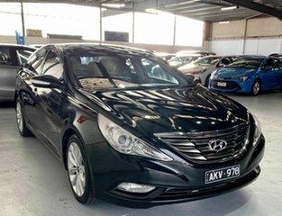 2012 Hyundai i45 YF MY11 Premium Black 6 Speed Sports Automatic Sedan.