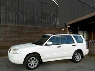 2005 Subaru Forester 79V MY06 XS AWD Luxury White 4 Speed Automatic Wagon