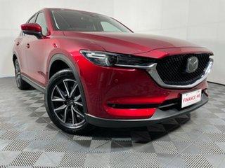 2019 Mazda CX-5 KF4WLA GT SKYACTIV-Drive i-ACTIV AWD Soul Red 6 Speed Sports Automatic Wagon.