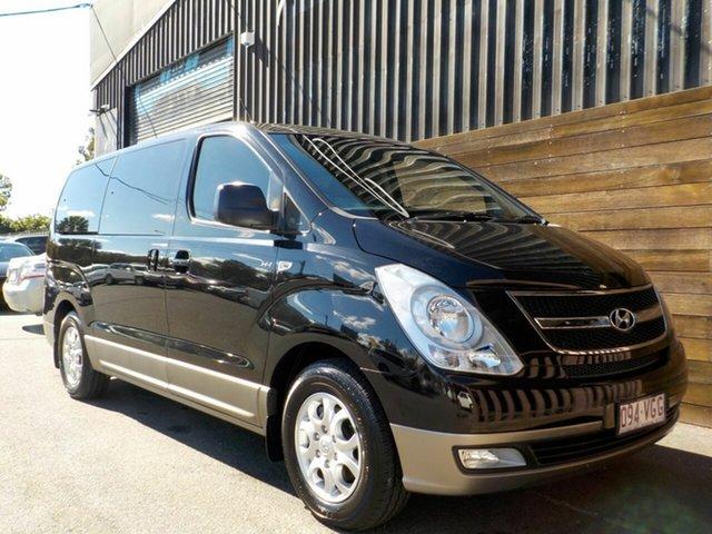Used Hyundai iMAX TQ-W MY15 Labrador, 2014 Hyundai iMAX TQ-W MY15 Black 4 Speed Automatic Wagon