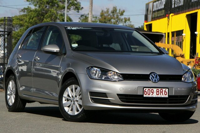 Used Volkswagen Golf VII MY17 92TSI DSG Trendline Rocklea, 2017 Volkswagen Golf VII MY17 92TSI DSG Trendline Tungsten Silver 7 Speed