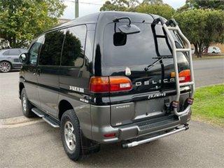 2001 Mitsubishi Delica Black Automatic Van Wagon