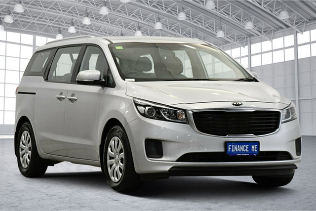 Used Kia Carnival YP MY18 S Victoria Park, 2017 Kia Carnival YP MY18 S Silver 6 Speed Sports Automatic Wagon
