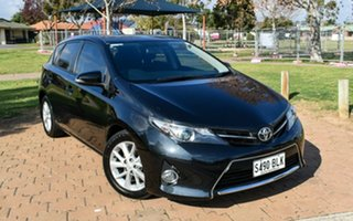 2013 Toyota Corolla ZRE182R Ascent Sport S-CVT Black 7 Speed Constant Variable Hatchback.