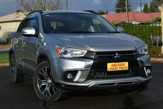 2017 Mitsubishi ASX XC MY18 LS 2WD Silver 1 Speed Constant Variable Wagon.