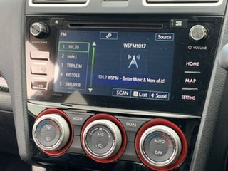 2015 Subaru WRX V1 MY16 STI AWD Hyper Blue Blue 6 Speed Manual Sedan