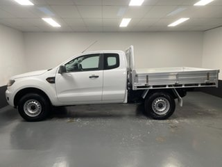 2016 Ford Ranger PX MkII XL White 6 Speed Manual Cab Chassis