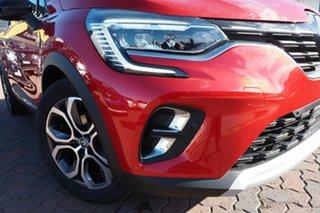 2021 Renault Captur XJB MY21 Intens EDC Diamond Black 7 Speed Sports Automatic Dual Clutch Hatchback.
