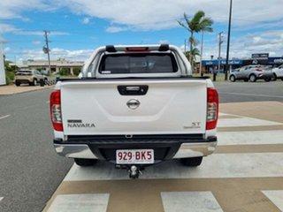 2015 Nissan Navara NP300 D23 ST (4x4) White 6 Speed Manual Dual Cab Utility.
