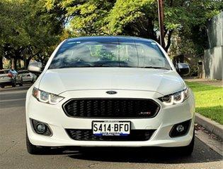2015 Ford Falcon FG X XR6 Ute Super Cab Turbo White 6 Speed Manual Utility.