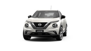 2021 Nissan Juke F16 ST+ DCT 2WD Ivory Pearl 7 Speed Sports Automatic Dual Clutch Hatchback.