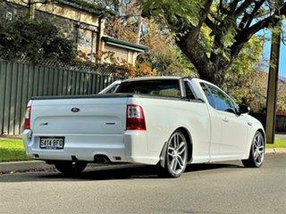 2015 Ford Falcon FG X XR6 Ute Super Cab Turbo White 6 Speed Manual Utility