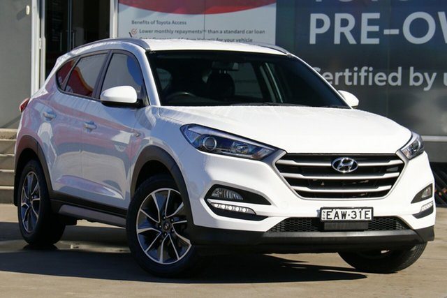 Pre-Owned Hyundai Tucson TL MY18 Active X 2WD Guildford, 2017 Hyundai Tucson TL MY18 Active X 2WD White 6 Speed Sports Automatic Wagon