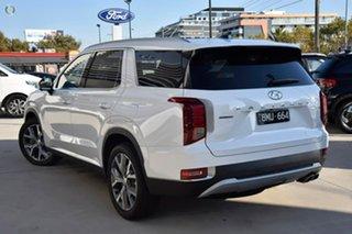 2021 Hyundai Palisade LX2.V1 MY21 Highlander AWD White 8 Speed Sports Automatic Wagon.