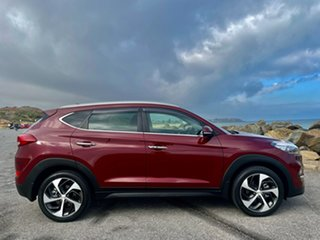 2016 Hyundai Tucson TLE Elite 2WD Ruby Wine 6 Speed Sports Automatic Wagon.