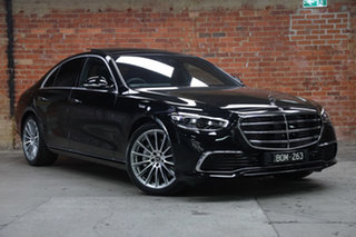 2021 Mercedes-Benz S-Class W223 801MY S450 9G-Tronic 4MATIC Obsidian Black 9 Speed Sports Automatic.