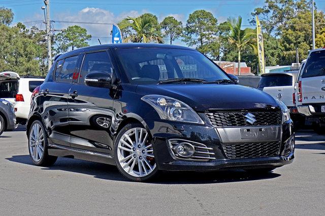 Used Suzuki Swift FZ MY15 Sport Chandler, 2015 Suzuki Swift FZ MY15 Sport Black 6 Speed Manual Hatchback