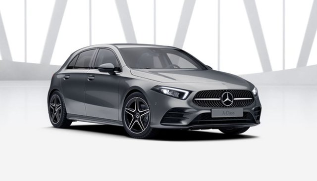 Demonstrator Mercedes-Benz A-Class W177 801+051MY A180 DCT Mulgrave, 2021 Mercedes-Benz A-Class W177 801+051MY A180 DCT Mountain Grey 7 Speed