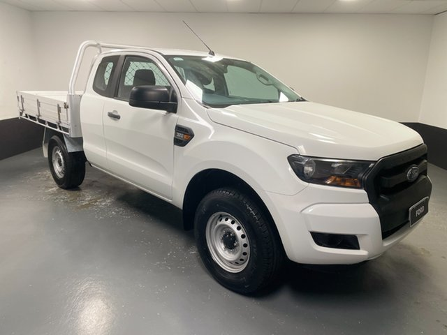 Used Ford Ranger PX MkII XL Rutherford, 2016 Ford Ranger PX MkII XL White 6 Speed Manual Cab Chassis