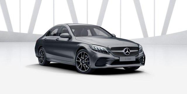 New Mercedes-Benz C-Class W205 801MY C200 9G-Tronic Berwick, 2021 Mercedes-Benz C-Class W205 801MY C200 9G-Tronic Selenite Grey 9 Speed Sports Automatic Sedan