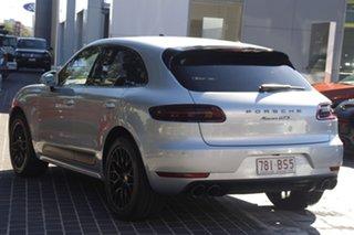 2017 Porsche Macan 95B MY17 GTS PDK AWD Silver 7 Speed Sports Automatic Dual Clutch Wagon.