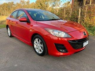 2010 Mazda 3 BL Series 1 Maxx Sport Red Manual Sedan.