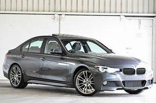 2018 BMW 3 Series F30 LCI 320i Sport Line Grey 8 Speed Sports Automatic Sedan.