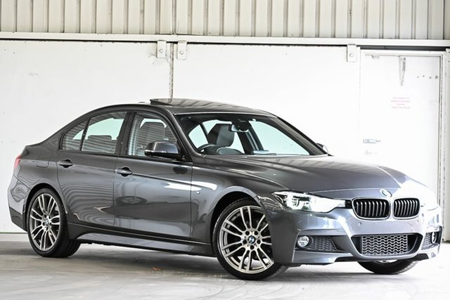 Used BMW 3 Series F30 LCI 320i Sport Line Laverton North, 2018 BMW 3 Series F30 LCI 320i Sport Line Grey 8 Speed Sports Automatic Sedan