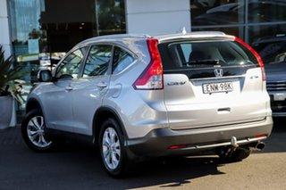 2012 Honda CR-V RM VTi-S 4WD Silver, Chrome 5 Speed Automatic Wagon.