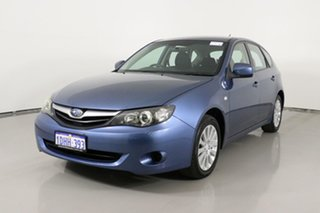 2010 Subaru Impreza MY10 R (AWD) Blue 5 Speed Manual Hatchback.