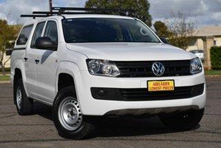 2016 Volkswagen Amarok 2H MY16 TDI420 4x2 White 8 Speed Automatic Utility.